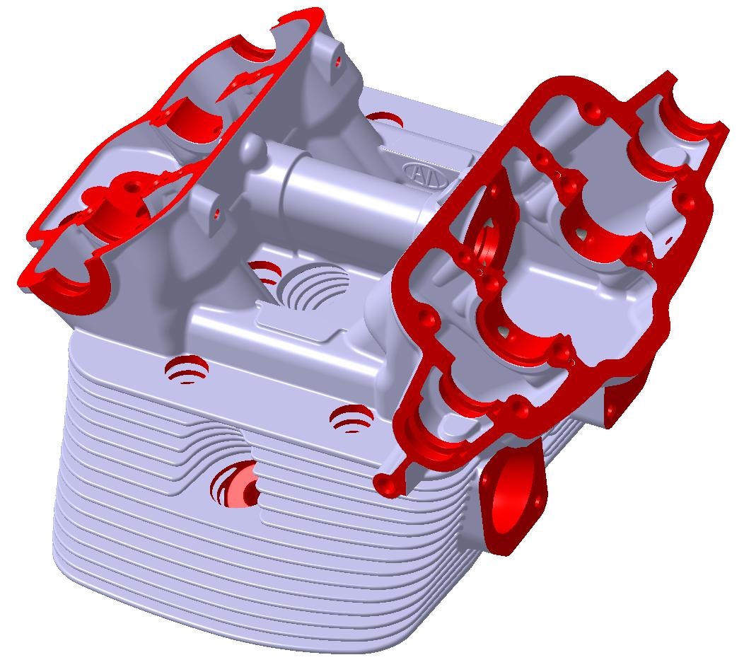 Reconstructing cylinder heads for Porsche legends | Inkjet